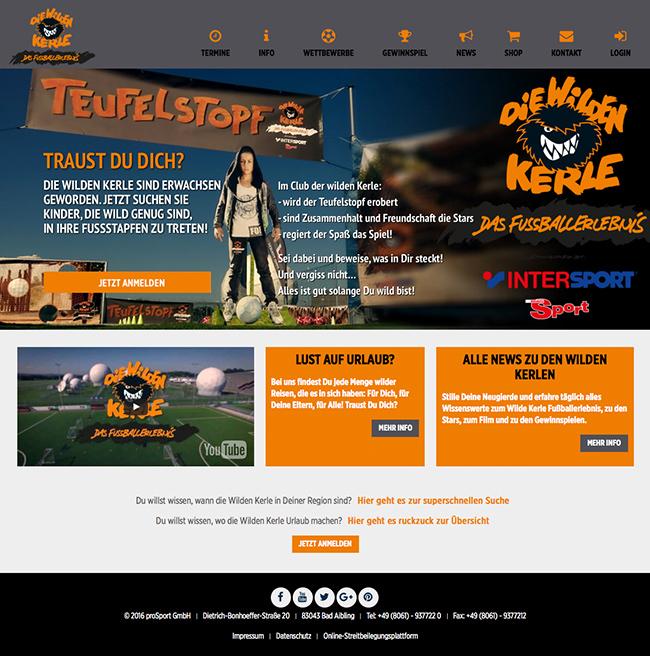wildekerle-website